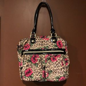 Betsy Johnson hobo bag AUTHENTIC RARE STYLE